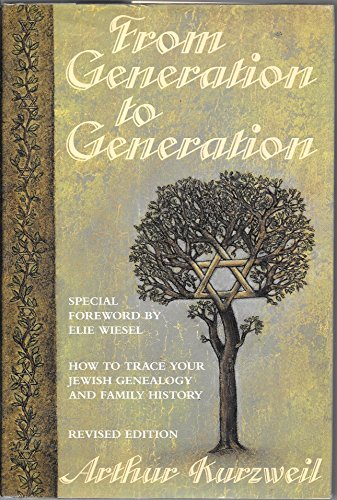 From Generation to Generation: How to Trace Your Jewish Genealogy and Family History Hardback