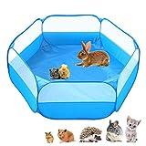 Amakunft Cage pour petits animaux portable, respirante et...