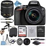 Nikon D3500 24.2MP DSLR Digital Camera with NIKKOR 18-55mm VR Lens + SanDisk 32GB Memory Card +...
