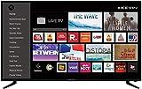 Kevin 124 cm (49 inches) 4K UHD LED Smart TV KN49UHD-PRO (Black) (2019 Model)