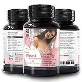 Pueraria Mirifica Capsules Breast Growth Pills - Natural Breast Enhancement Pills for Women , 90 Veg Breast Enlagement Pills – , Breast Lift , Menopause Relief , Vaginal Health , Boosts Hair Growth