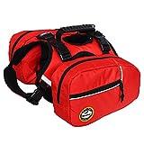BlackDoggy Sac à dos réglable pour chien avec sacoches, idéal pour la randonnée