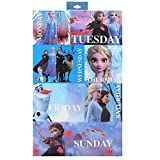 Luv Her Frozen 2 Girls 7 Days of The Week Bow Box Set - Princess Hair Styling Accessories and Vanity Toys