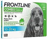 FRONTLINE Combo Chien - Anti-puces et anti-tiques pour chien - 10-20kg - 6...