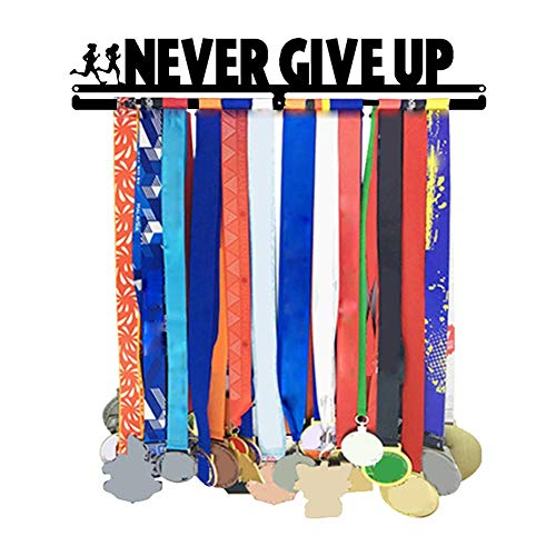 Kitabetty Expositor de medallas, Titular de Medalla Deportiva Medalla Colgador Titular de premios Medalla Estante de exhibición, cuelgue hasta 30 medallas