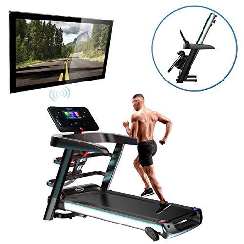 Fitness Club Super Running Machine, Tapis roulant Pieghevoli, P1-P12, Tre modalit di Conto alla...