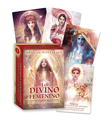 Lo divino femenino. Libro y 53 cartas oráculo de diosas y místicas