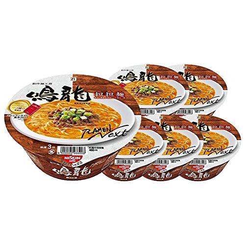 [Value Pack]'NAKIRYU' 鳴龍 Japan Famous Ramen Shop's Instant Pot Noodle 6 Pots Value Set