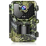 1080P 16MP Trail Camera, Hunting Camera with 120°Wide-Angle Motion Latest Sensor View 0.2s Trigger...