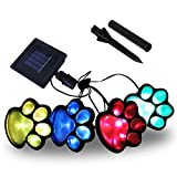 LED Solar Paw...image