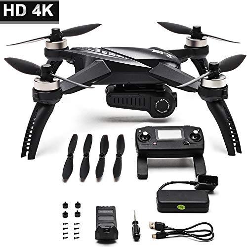 Drone 4K Drone con Telecamera MJX Batteria a Lunga Durata aggiornata Bugs 5W Drone GPS Remote Control FPV Drone (Tipo di Scatola: Nuovo Bug 5W + 1 Batteria)