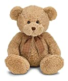 Bearington Bensen Brown Plush Stuffed Animal Teddy Bear, 16 inches