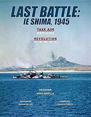 Smaller, area-move game of the last US invasion of World War II, that of the island of Ie Shima, April 1945 88 counters