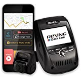 Rexing V1P Pro Dual 1080p Full HD Front and Rear 170 Degree Wide Angle Wi-Fi Car Dash Cam with...