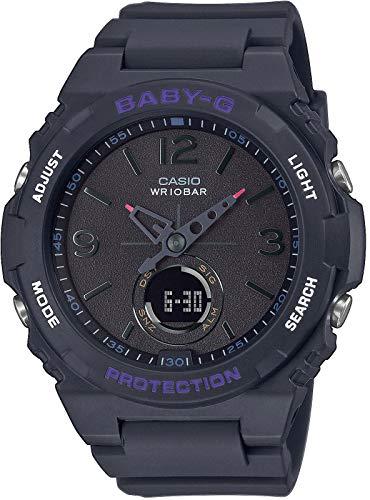 CASIO Damen Analog – Digital Quarz Uhr mit Resin Armband BGA-260-1AER