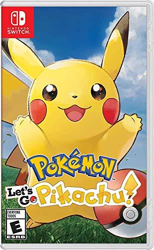 Pokémon: Let's Go, Pikachu! - Nintendo Switch - Standard Edition