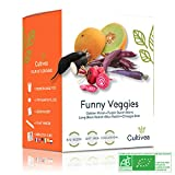 Cultivea Mini - Kit Prêt à Pousser 5 Légumes Insolites - Graines 100% biologiques - Jardinez et...