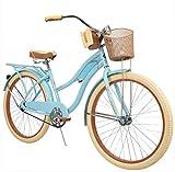 Huffy 26' Womens Nel Lusso Cruiser Bike Frame, Blue