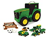 John Deere Preschool - Tractor y maletín de Transporte y almacenaje (Tomy 42948)