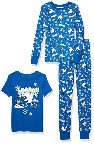Boys' Disney Snug-Fit Cotton Pajama Sets, 3Pc Frozen ARGHH