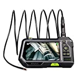 Dual Lens Endoscope 5.5MM Inspection Camera-Anykit NTS500 Industrial...
