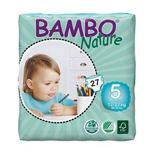 Organic diapers Bambo 7016