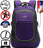 Backpack for School College Student Sturdy Bookbag Travel Business...
