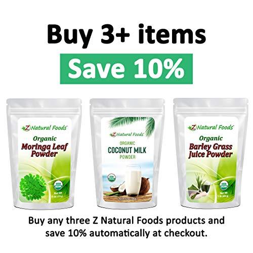 Organic Moringa Oleifera Leaf Powder - 5 lb - 100% Pure, Raw, Non GMO, Vegan & Kosher - Amazing in Smoothies, Drinks, Tea, Juice & Recipes - Energizing Green Superfood Packed with Vitamins & Minerals 3