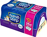 Fresh Step Multi-Cat with Febreze Freshness, Clumping Cat Litter, Scented, 34 Pounds