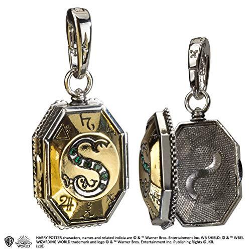 Noble Collection - Pendentif Harry Potter - Mdaillon de Salazar Charm Lumos - 0849421003210