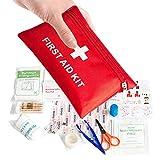 Trousse de Premiers Secours,Mini Kits de Survie Petite Trousse de Survie...