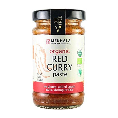 Mekhala Organic Gluten Free Thai Red Curry Paste
