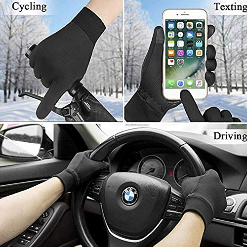 Winter Gloves for Men Women Weather Windproof Thermal Touchscreen Gloves For Driving Cycling Running Outdoor Activities