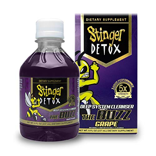 Stinger Detox Buzz 5X Extra Strength Drink – Peach Lemonade Flavor – 8 FL OZ 1 - My Weight Loss Today