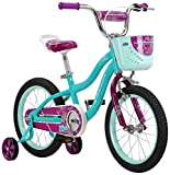 Schwinn Elm Girl's Bike, Featuring SmartStart Frame to Fit Your Child's Proportions, 12inches Wheels, Teal (Renewed)