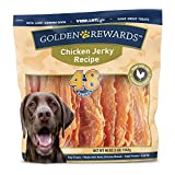 Golden Rewards Chicken Jerky Recipe for Dogs (Made with Real Chicken Breast), 48 Oz