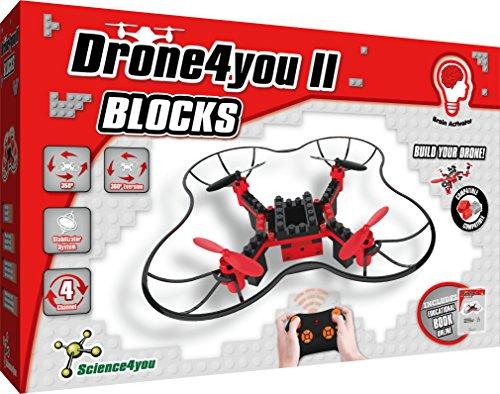 Science4you-Drone4you II-Blocks para Niños +8 Años, (+30)