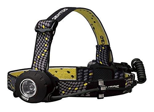 GENTOS(ジェントス) LED ヘッドライト 【明るさ300ルーメン/実用点灯8時間/防滴】 ヘッドウォーズ HW-000X