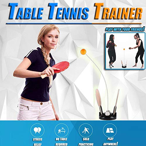 Emerge Ping Pong Ball Machine Table Tennis Trainer