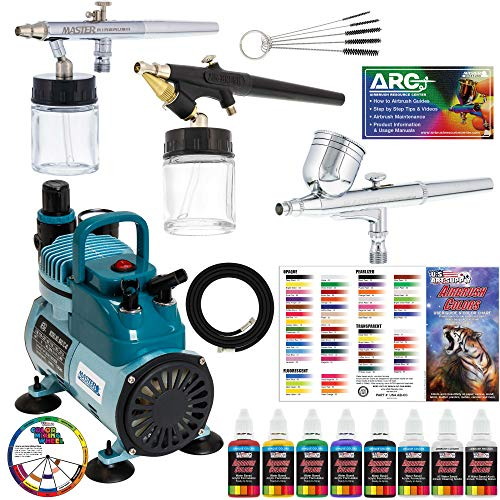 51llgNkSnEL - The 7 Best Airbrush Kits for the Avid Artist