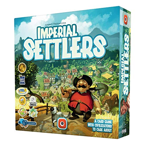 Portal Games Imperial Settlers, Multi-Colored