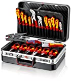 Knipex 00 21 20 MALETIN HERRAMIENTA ELECTRONIC, Multicolor, Set Piezas
