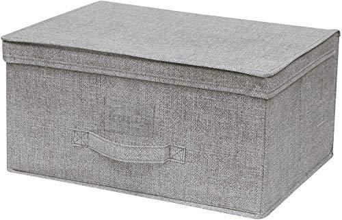 Aurora Store 3 Box Abiti TNT 50x40x25 cm Scatola Salvaspazio Armadio Biancheria Portaoggetti