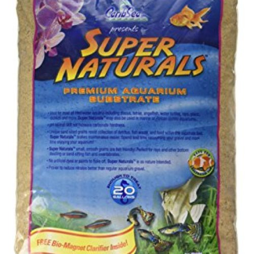 Caribsea Super Naturals Aquarium Sand, 20-Pound
