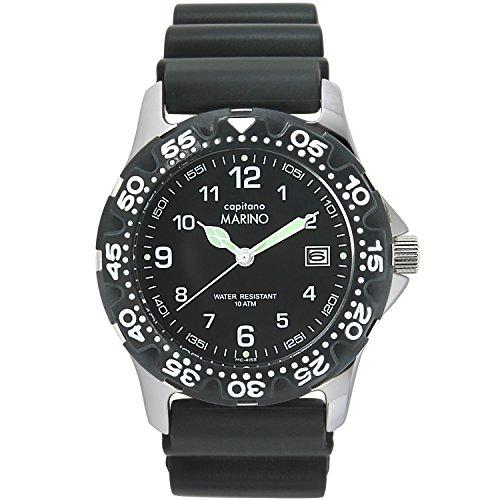 [マリノキャピターノ] 腕時計 MC 415S-1 メンズ ブラック
