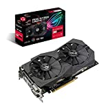 ASUS ROG Strix Radeon RX 570 OC Edition 8 GB GDDR5, 1310 Mhz, AURA Sync RGB Lighting PCI Express 3.0 Gaming Graphics Card (ROG-STRIX-RX570-O8G-GAMING)