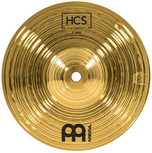 Meinl Cymbals Percussion 8 inch Traditional Drum Set Brass Splash Metallic Cymbal