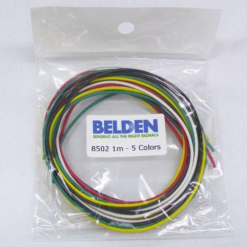 BELDEN 8502 フックアップワイヤー5色セット 8502-01-5