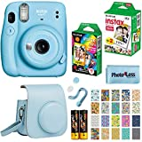 Fujifilm Instax Mini 11 Instant Camera - Sky Blue (16654762) + Fujifilm Instax Mini Twin Pack...