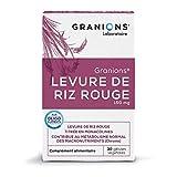 GRANIONS Levure de Riz Rouge 30 Gélules, 10g